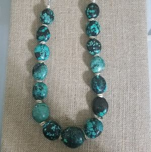 Stunning turquoise necklace